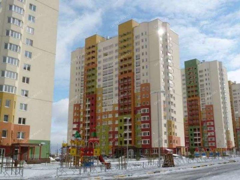 двухкомнатная квартира на улице Цветочная