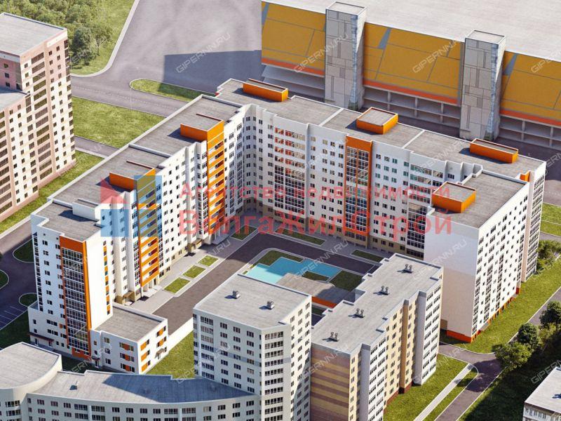 однокомнатная квартира на улице Родионова