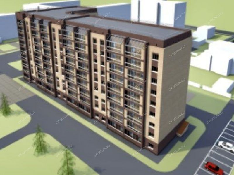 двухкомнатная квартира в новостройке на улице Кирова город Арзамас