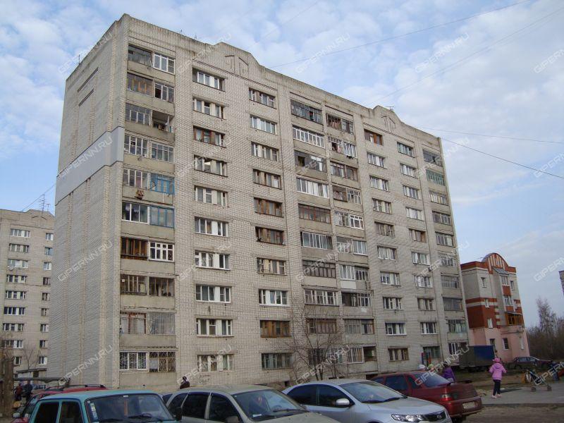 двухкомнатная квартира на улице Касимовская дом 19