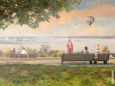 Новая набережная Федоровского: террасы, амфитеатр и плодовый сад