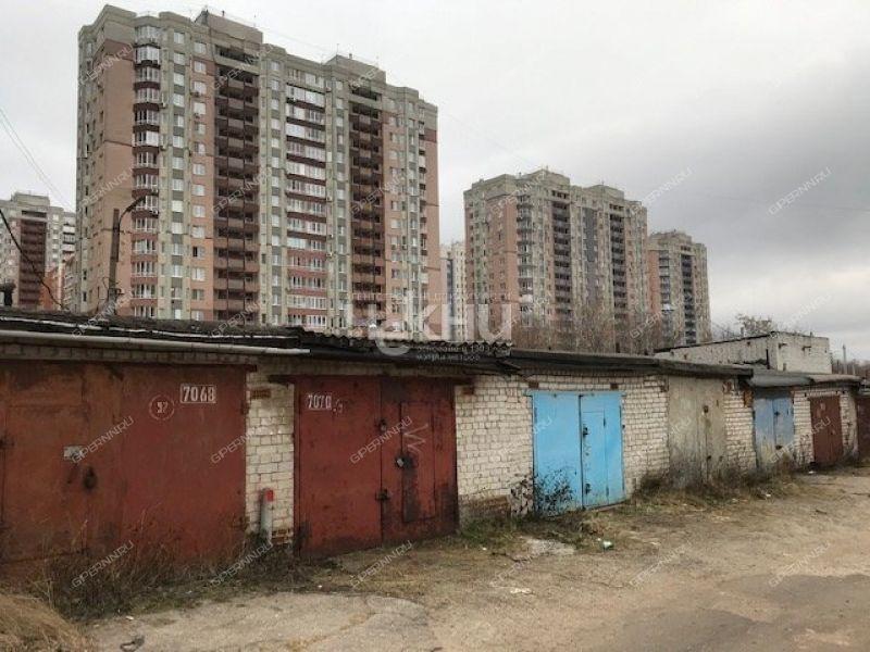 гараж на улице Родионова