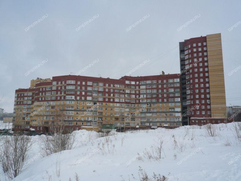 однокомнатная квартира на улице Нижне-Печёрская дом 4