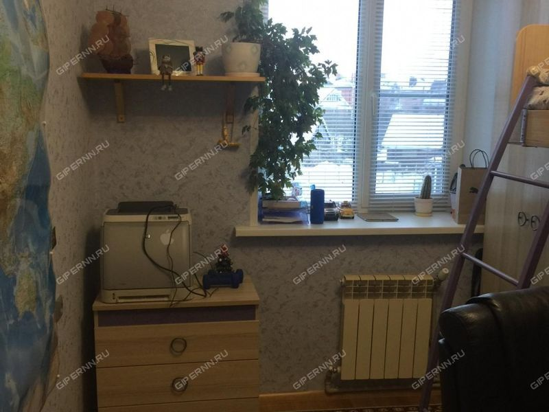 трёхкомнатная квартира на улице Центральная дом 24 посёлок Новинки